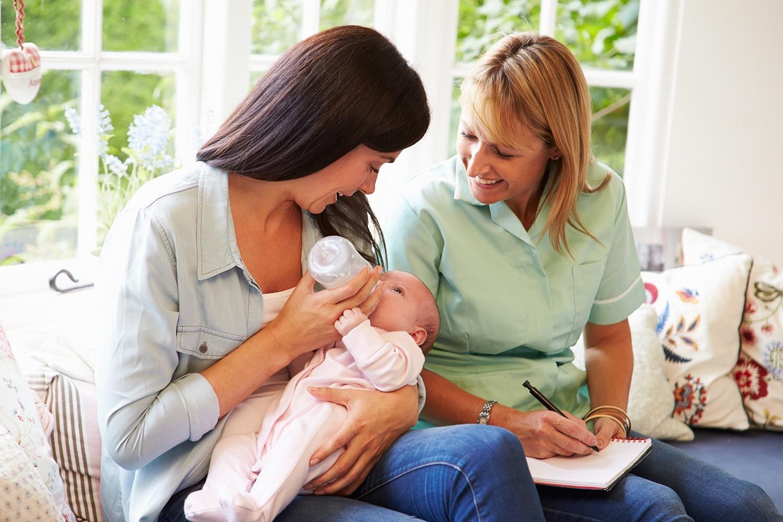 Wizyty <br> pielęgniarsko-położnicze