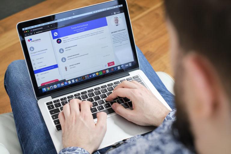 Konsultacje online, czyli sposób na kontakt z lekarzem w czasie kwarantanny