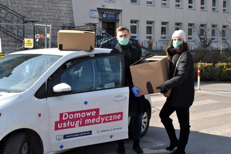 uPacjenta wspólnie z hubraum wspiera krakowską służbę zdrowia